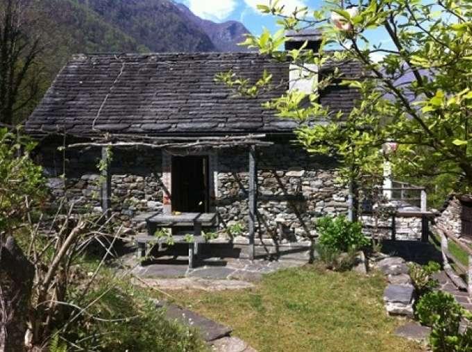 Ferienhaus Schweiz, Rustico 5 Gehminuten vom Fluss Maggia ...